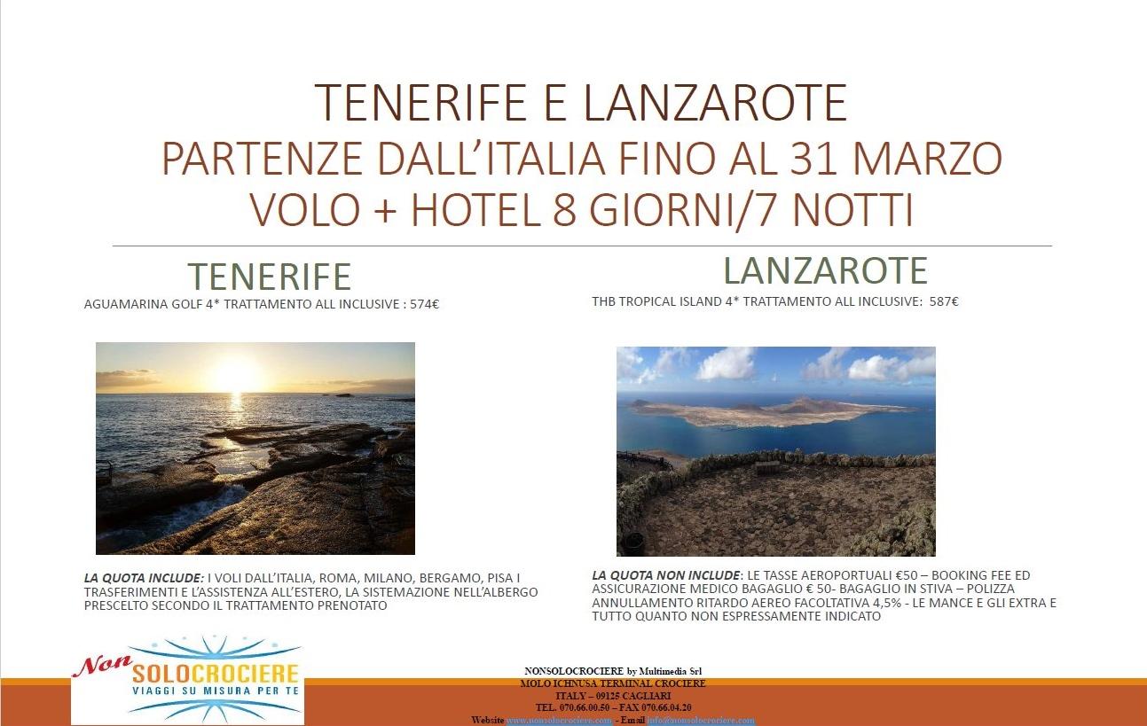 Tenerife e Lanzarote