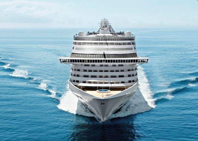 Msc Fantasia con imbarco da Cagliari